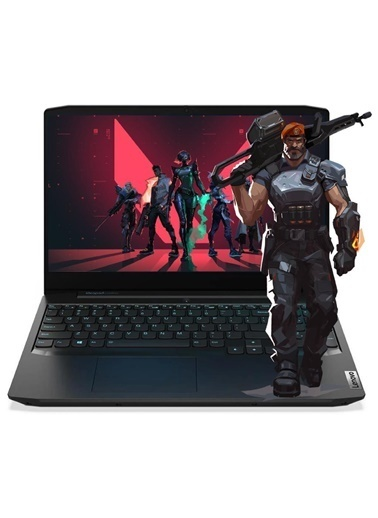 "Lenovo Lenovo Gaming 3 82EY00CGTX02 Ryzen5 4600H 8GB 1TB+256SSD GTX1650 15.6"" FullHD FreeDOS Taşınabilir Bilgisayar Renkli"